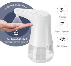 Homlly <b>Automatic Sensor</b> Alcohol Liquid <b>Hand Sanitizer</b> Dispenser ...