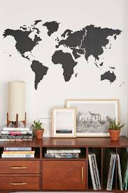 sun wall decal trendy designs: walls need love world map wall decal