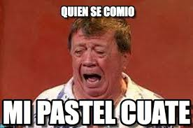 Quien Se Comio - Chabelo De Chillon meme en Memegen via Relatably.com