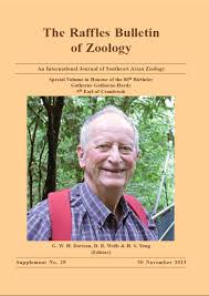 the raffles bulletin of zoology supplement no 29 is now published