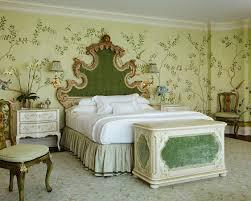 gournay wallpaper bedroom