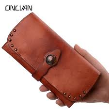 <b>Genuine Leather</b> Handcrafted <b>Mens</b> Wallet | Mount Mercy University