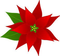 Free Clip Art Borders Poinsettia | Christmas Poinsettia Flower - Free ...