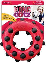 <b>Kong Игрушка</b> для собак <b>Dotz</b> Кольцо большое 15 см купить по ...
