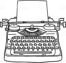 Image result for free typewriter clipart