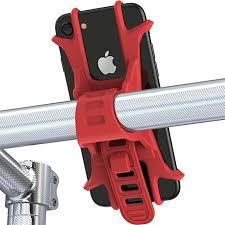 Aeoss Universal <b>Bicycle Phone</b> Holder <b>Silicone</b> Elastic: Amazon.in ...