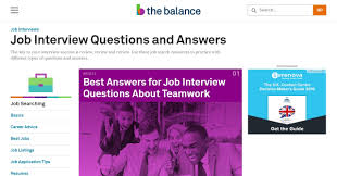 best websites you should follow for interview questions and answers the balance com is a site which has choke full of articles on every subject they also have a section dedicated to job interview questions and answers