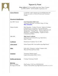 gallery photos of archaiccomely work experience resume format high school resume format