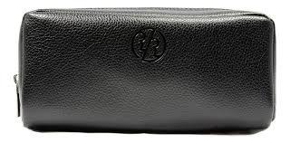 Купить <b>дорожный несессер genuine</b> leather dopp (черная кожа ...