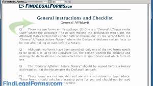 affidavit letter format example xianning affidavit letter format example sample general affidavit form form