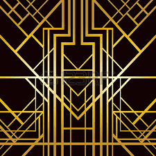 line art abstract geometric pattern in art deco style art deco furniture lines