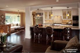 Open Kitchen Living Room Open Kitchen And Living Room Paint Ideas Nomadiceuphoriacom