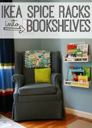 ikea spice rack turned into bookshelves bookshelves office great
