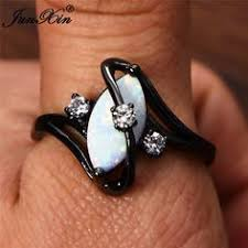 Mossovy <b>Zircon Inlaid With Hollow</b> Flower Rose Gold & Black ...