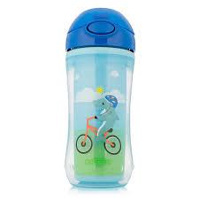 Dr. Brown's <b>Чашка</b>-<b>термос с трубочкой</b>, синяя, 300 мл — купить в ...