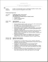 it security resume network  seangarrette cosample resume for security manager position security director