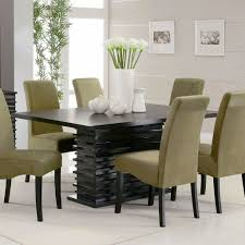 Fabric Chairs For Dining Room Table Easy Dining Rooms On Oval Dining Tables And Chairs In