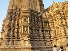 tourism in india   wikipedia vamana temple at khajuraho a unesco world heritage site with its sculptural marvels