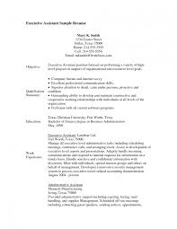 entry level administrative assistant resume entry level sample sample resume of administrative assistant images about best sample resume for business administration internship sample resume