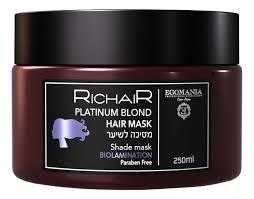 <b>Маска для волос</b> нейтрализующая желтизну Richair <b>Platinum</b> ...