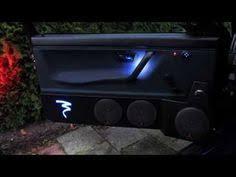 เครื่องเสียงติดรถยนต์ <b>Car</b> LED Door Panels Courtesy Light Speakers ...