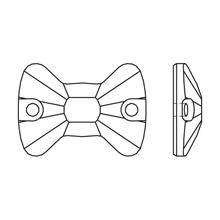 Доступные цвета <b>3258</b> Bow Tie Sew-on Stone : Пришивные ...