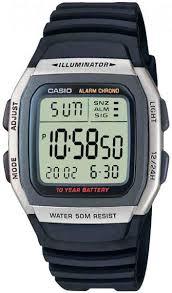 Наручные <b>часы Casio</b> Collection <b>W</b>-<b>96H</b>-<b>1A</b> — купить в интернет ...