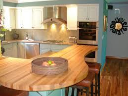 kitchen peninsula shaped design a blend of materials sp rx butcher block sxjpgrendhgtvcom a blend of m