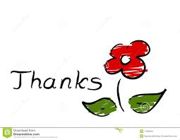 thanks flower stock photo image  thanks flower