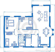 House Plan Doodle Stock Photography   Image