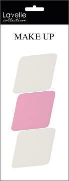 Lavelle Collection <b>Спонж косметический ромб</b> (в наборе 3шт ...