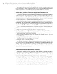 chapter business plan a national training and certification page 86