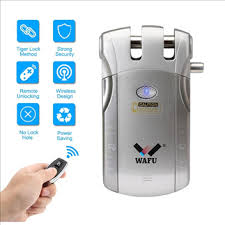 <b>WF</b>-010 WAFU <b>Smart</b> Remote Control <b>Door</b> Lock, Invisible Security ...