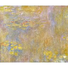 Claude Monet- Waterlilies, after <b>1916</b> at John Lewis & Partners