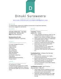dinuki suraweera strategic storyteller resume