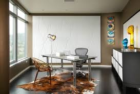 home office ideas for decorating animal hide rugs home office traditional