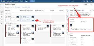 kanban board estimates agile estimates for jira documentation how to enable estimation for kanban boards