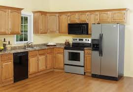 wall color ideas oak: kitchen colours for small unusual pictures design gallery pwoder blue walls colors kitchens
