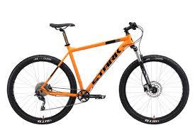 Велосипед <b>STARK Krafter</b> 29.7 HD 2019 <b>20</b> оранжевый/чёрный