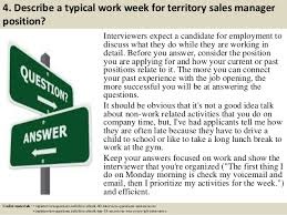 top territory s manager interview questions and answers  5