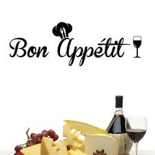 Shop <b>Bon Appétit Vinyl</b> Wall Decal - Free Shipping On Orders Over ...