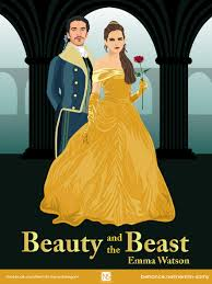 beauty and the beast on behance