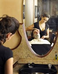 Having your hair washed. One of life's <b>simple pleasures</b> ...
