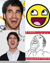 Darren Criss Totally Looks Like All the Different Memes ... via Relatably.com