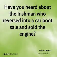 Frank Carson Car Quotes   QuoteHD via Relatably.com