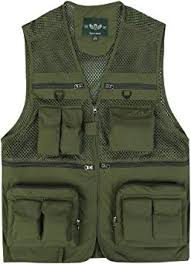 Sempurna Outdoor Fishing Vest <b>Quick</b>-<b>Dry</b> Multi Pockets <b>Mesh Vest</b>