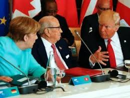 G7 zirvesinde Trump yalnız kaldı