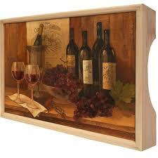 <b>Поднос</b> Gift'n'home «<b>Винтажные вина</b>» купить по низкой цене в ...