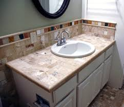 tiling ideas bathroom top: bathroom countertop tile ideas u trainfitness