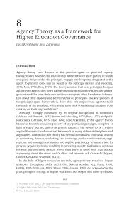 corporate governance agency theory essay  corporate governance agency theory essay
